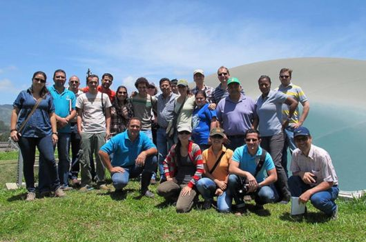 Training on Biogas in Costa Rica